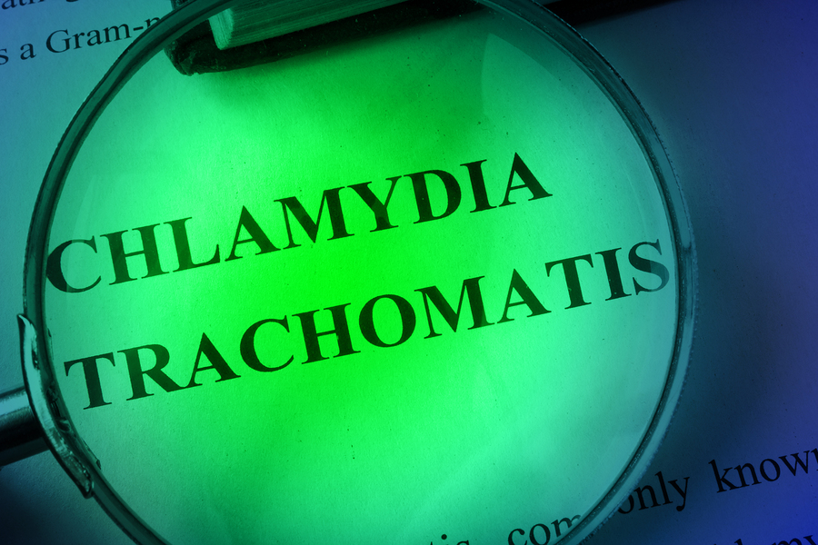 Non-sexual contraction of chlamydia